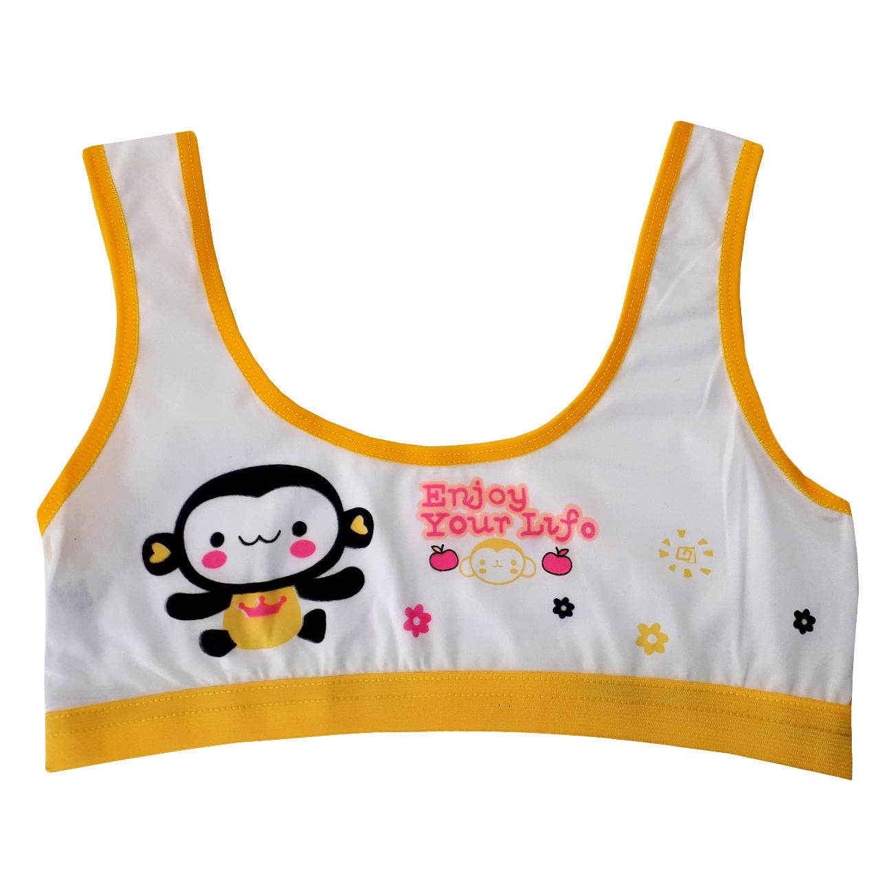 نیم تنه دخترانه طرح میمون کد 16
