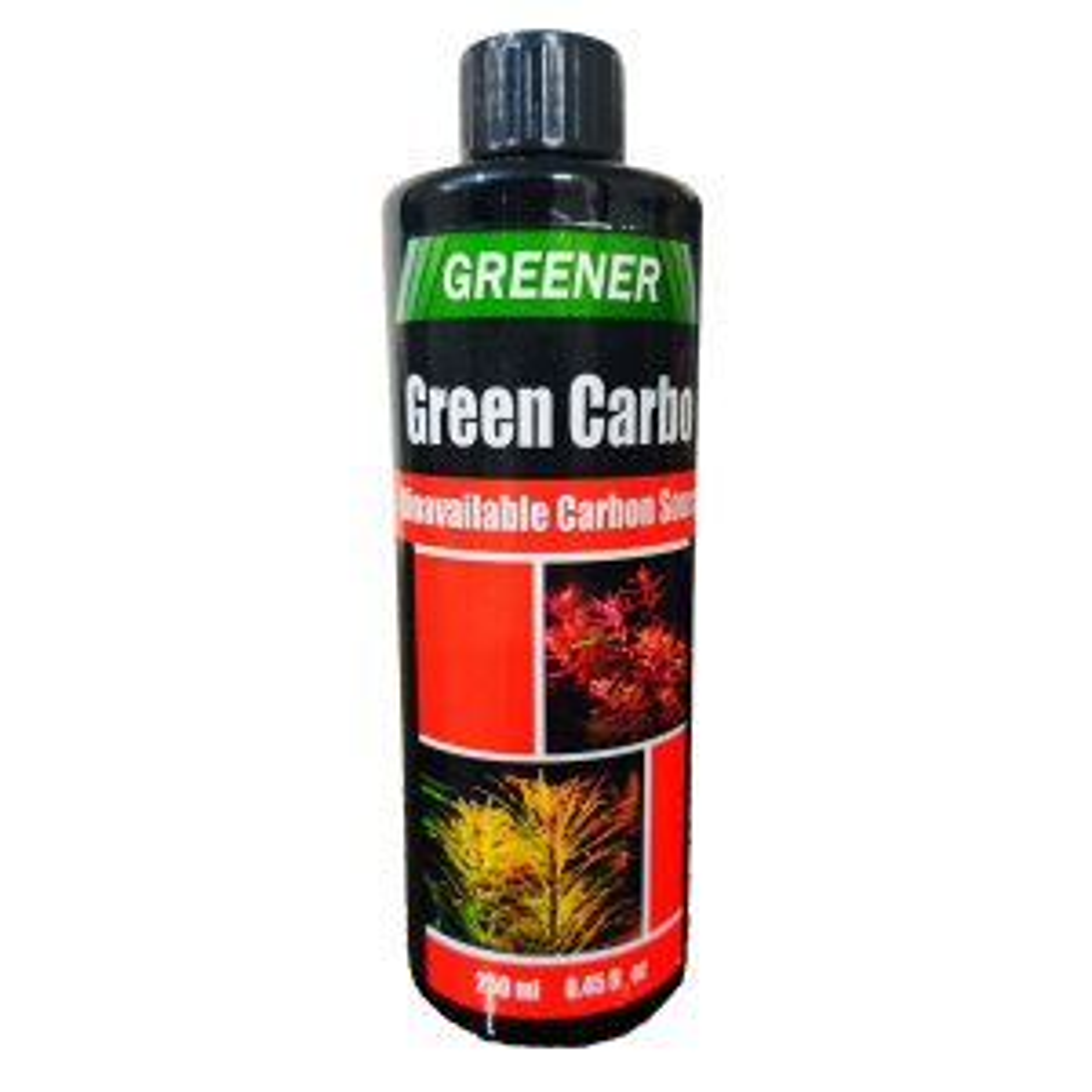 محلول کربن آکواریوم گرینر مدل Green carbo حجم 250 میلی لیتر