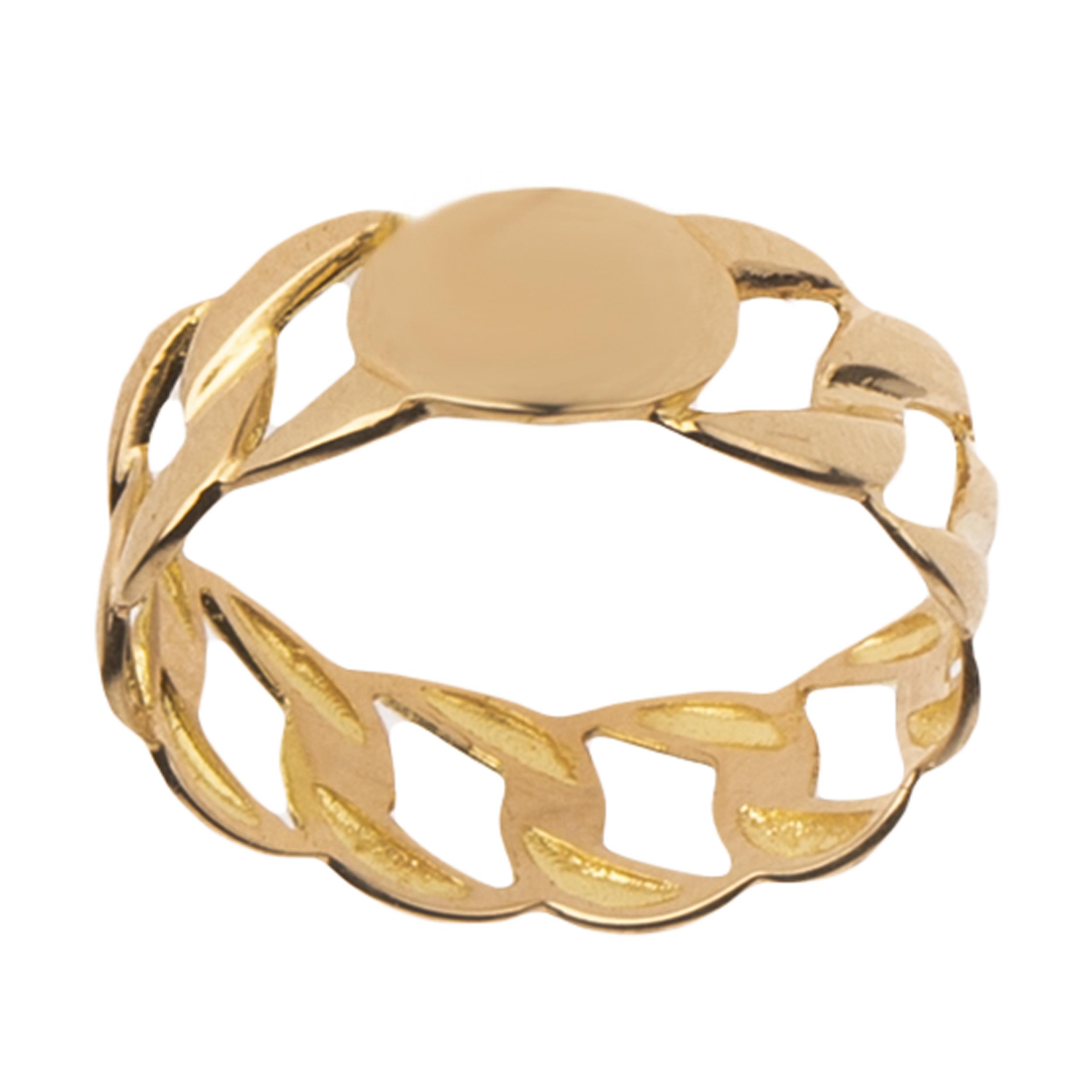 انگشتر طلا 18 عیار زنانه  گالری یارطلا کد AN21