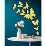 استیکر مستر راد مدل پروانهکد B-F- W GOLD 10مجموعه 10 عددی