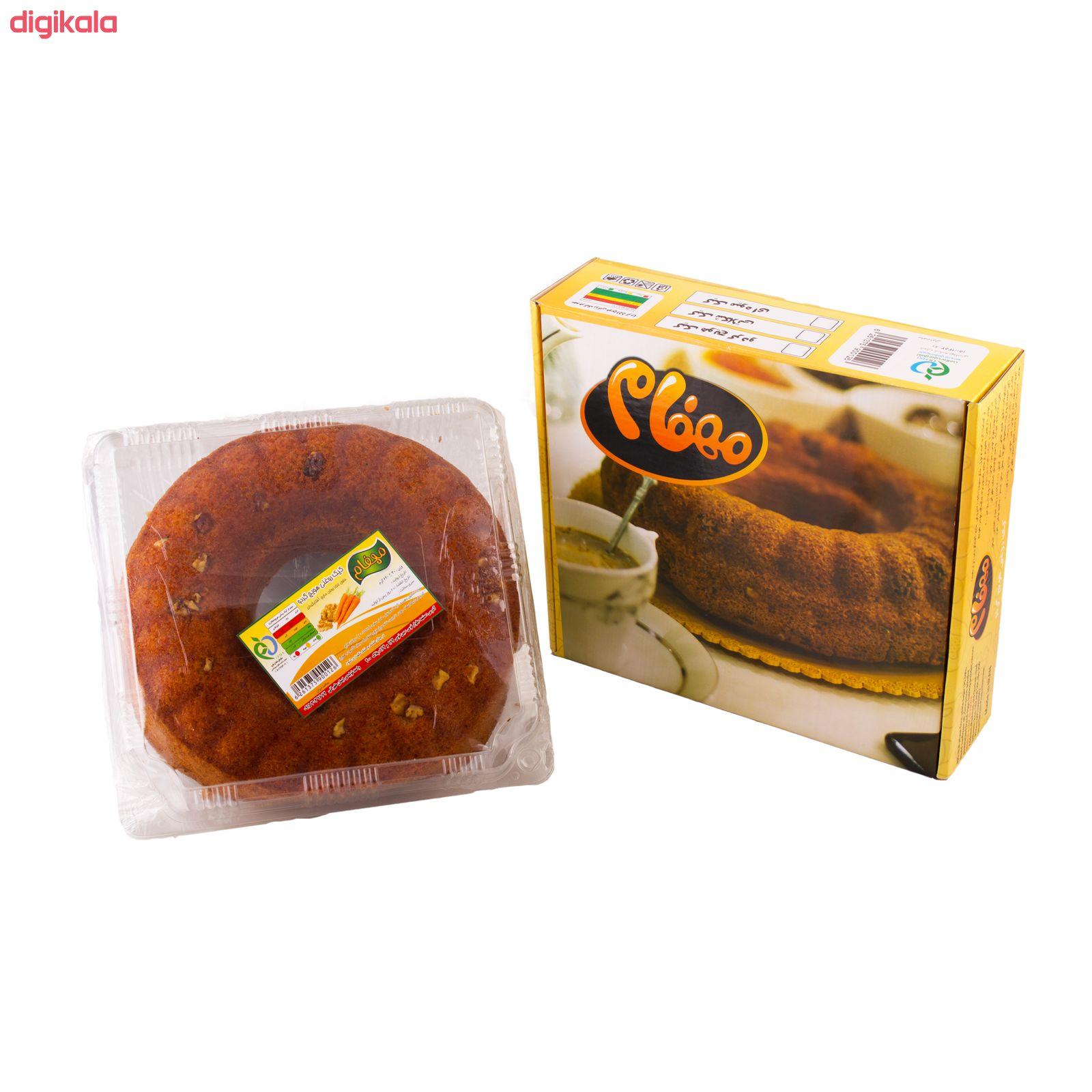 کیک روغنی هویج گردو مهفام - 620 گرم  main 1 9