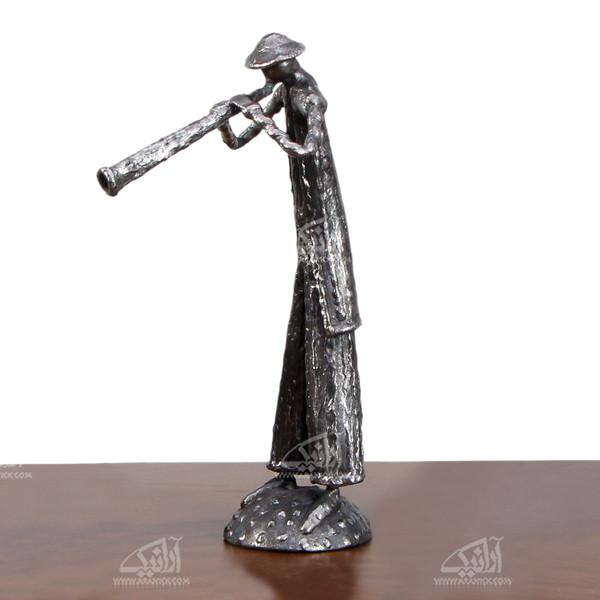مجسمه فولادی مرد بختیاری   مدل 1105700006