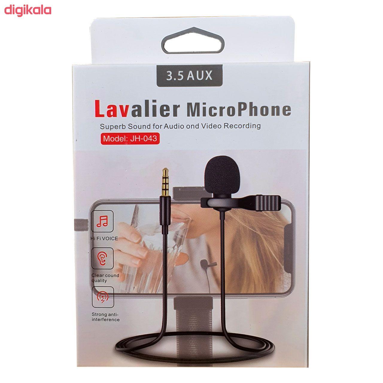 میکروفون یقه ای لاوالیر مدل JH-043 main 1 1
