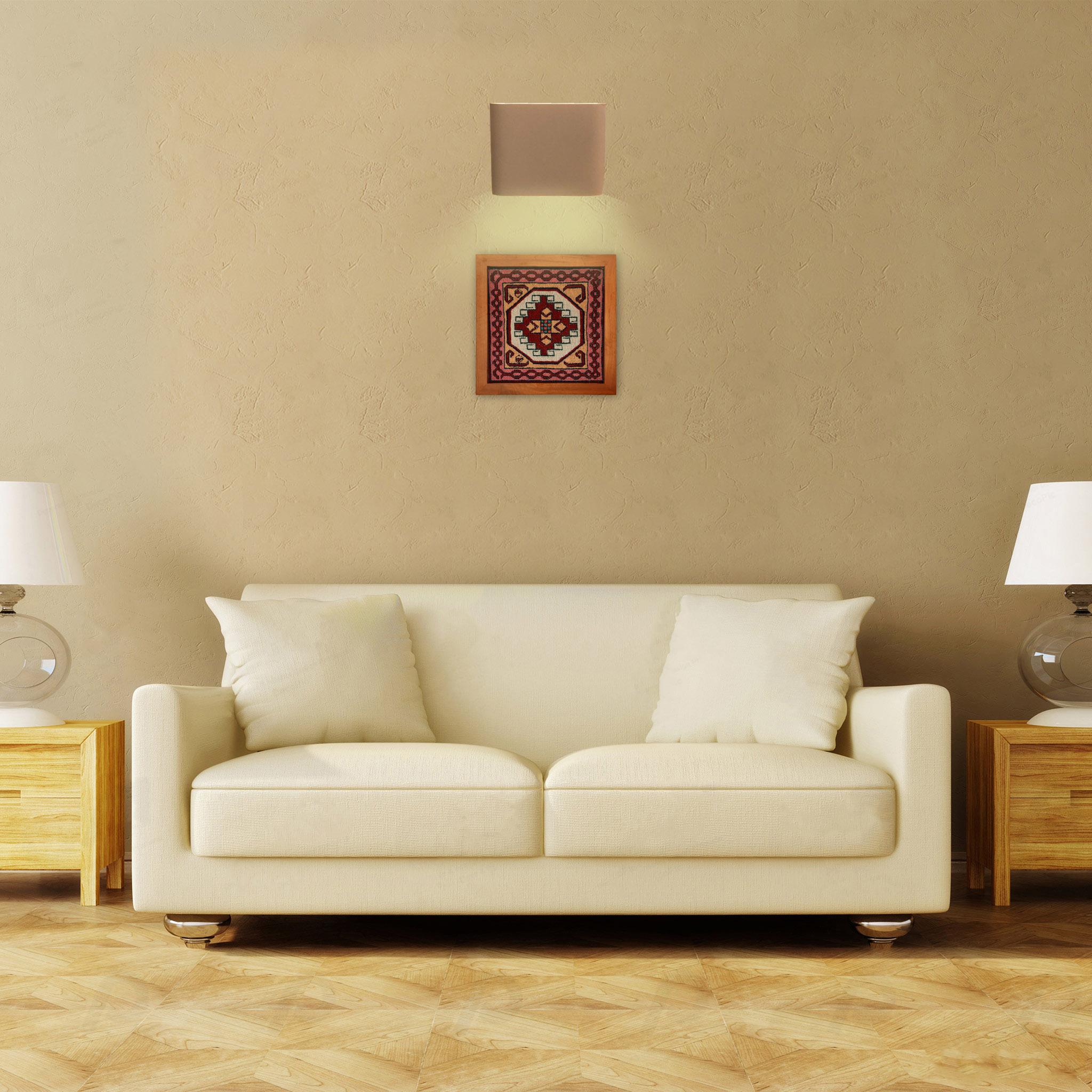 خرید                       تابلو فرش دستبافت کد 990459