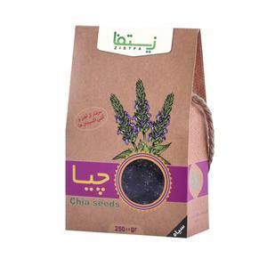 دانه چیا سیاه زیستفا- 250 گرم