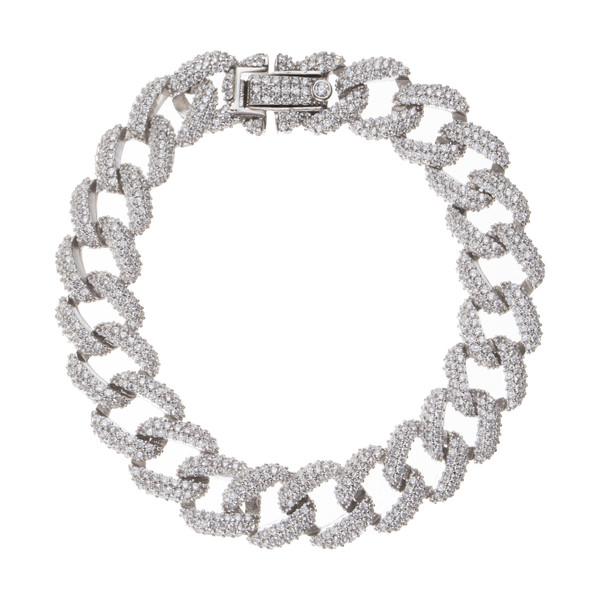 دستبند نقره زنانه سینانر کد SNR-R075