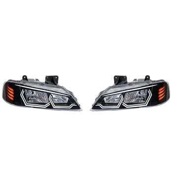چراغ جلو خودرو مدل pa-030 مناسب برای پژو پارس بسته 2 عددی