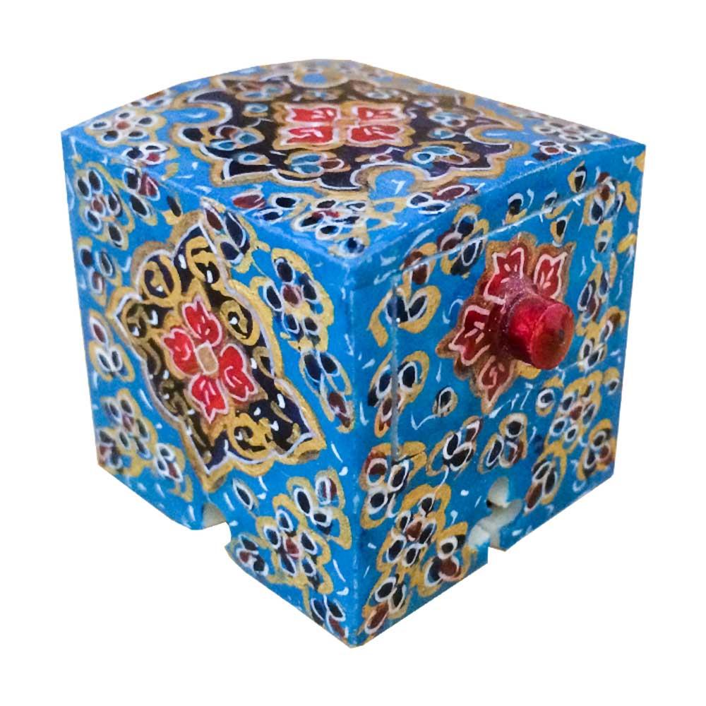 جعبه جواهرات استخوانی طرح تذهيب کد B 243