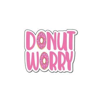 استیکر لپ تاپ گراسیپا طرح Dont Worry کد 02