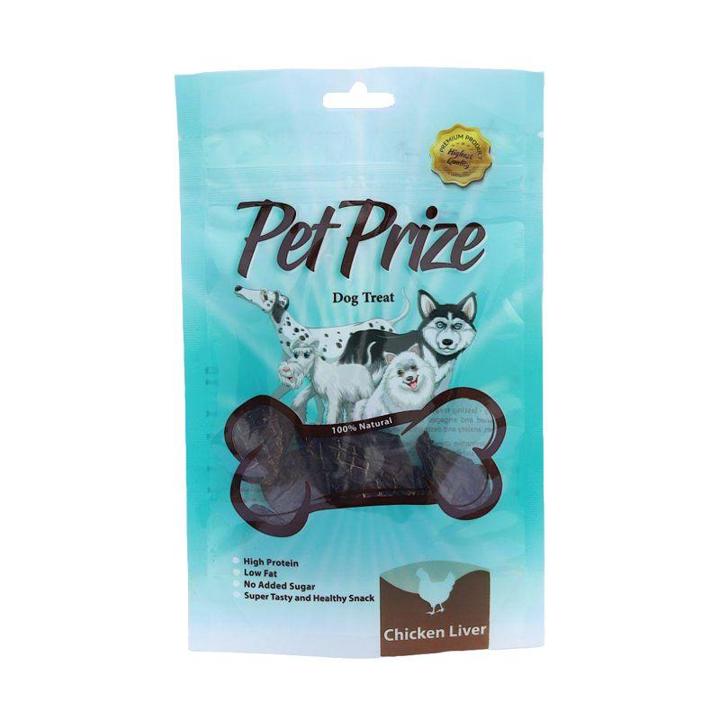 غذای تشویقی سگ پت پرایز مدل Chicken Liver وزن 50 گرم