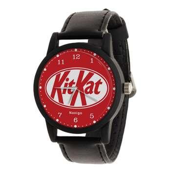 ساعت مچی عقربه ای ناکسیگو طرح KitKat کد LF4197