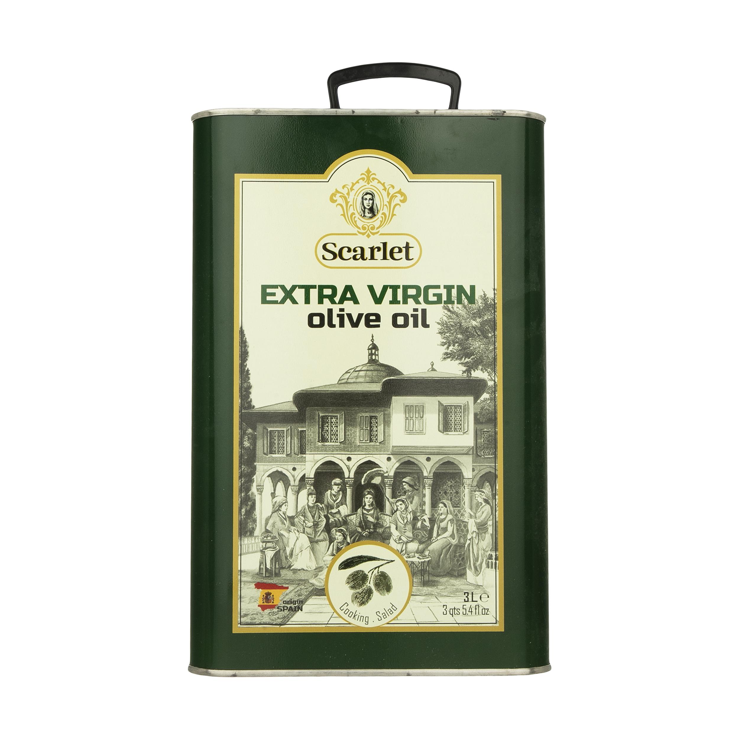 روغن زیتون ارگانیک فرابکر اسکارلت - 3 لیتر