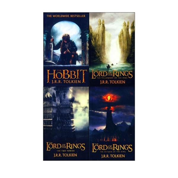 کتاب Lord of the Rings اثر J. R. R. Tolkien انتشارات هدف نوین 4 جلدی
