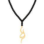 گردنبند طلا 18 عیار زنانه کرابو مدل Kr70791