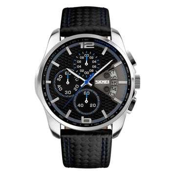 ساعت مچی عقربه ای مردانه اسکمی مدل 9016BL