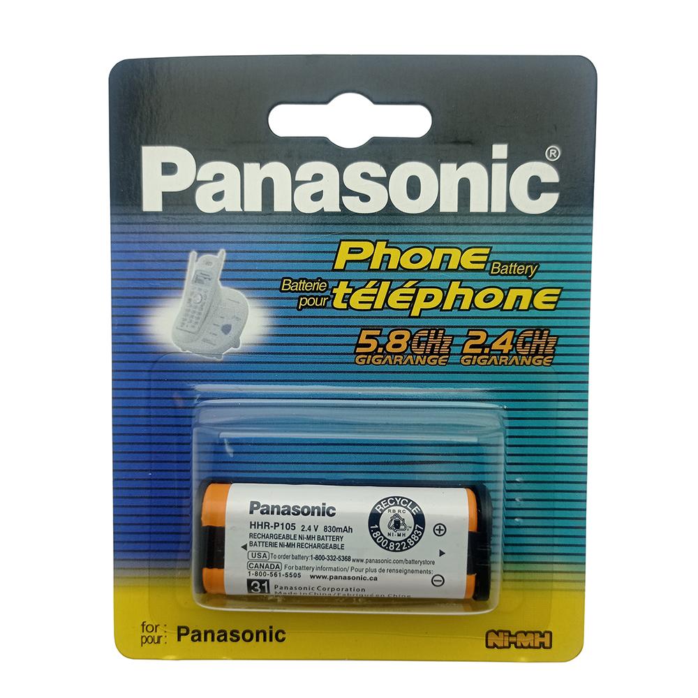 باتری تلفن بی سیم پاناسونیک مدل HHR-P105-DM