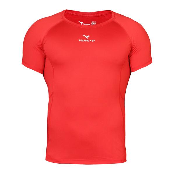 تی شرت ورزشی مردانه تکنیک پلاس07 مدل TS-117-GHE