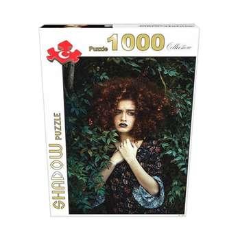 پازل 1000 تکه شدو مدل دختر جنگل