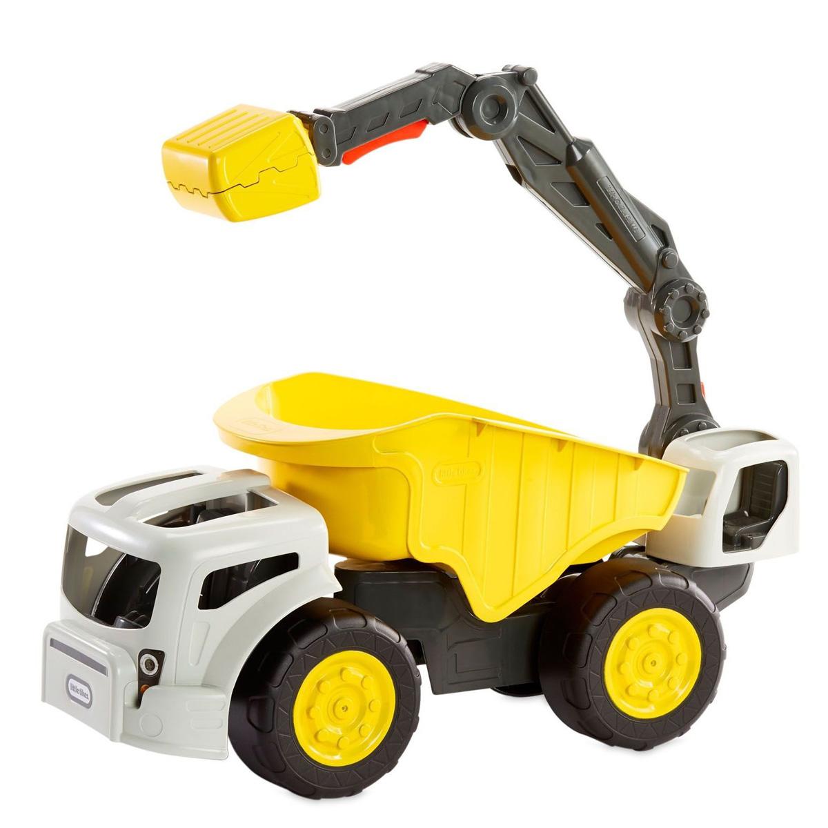 ماشین بازی لیتل تایکس مدل بیل مکانیکی کد 650598