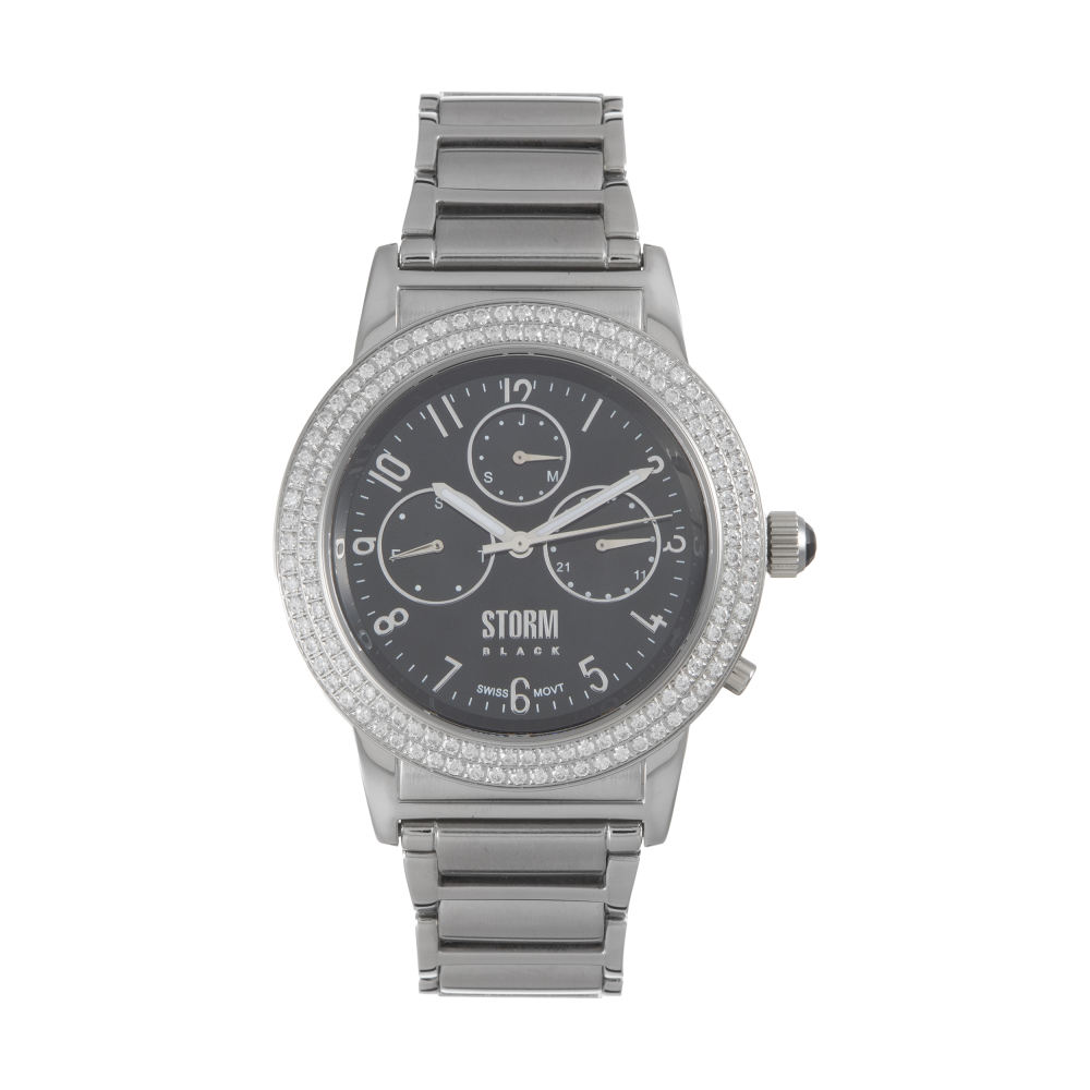 ساعت مچی عقربه ای زنانه استورم مدل ST 47132-BK