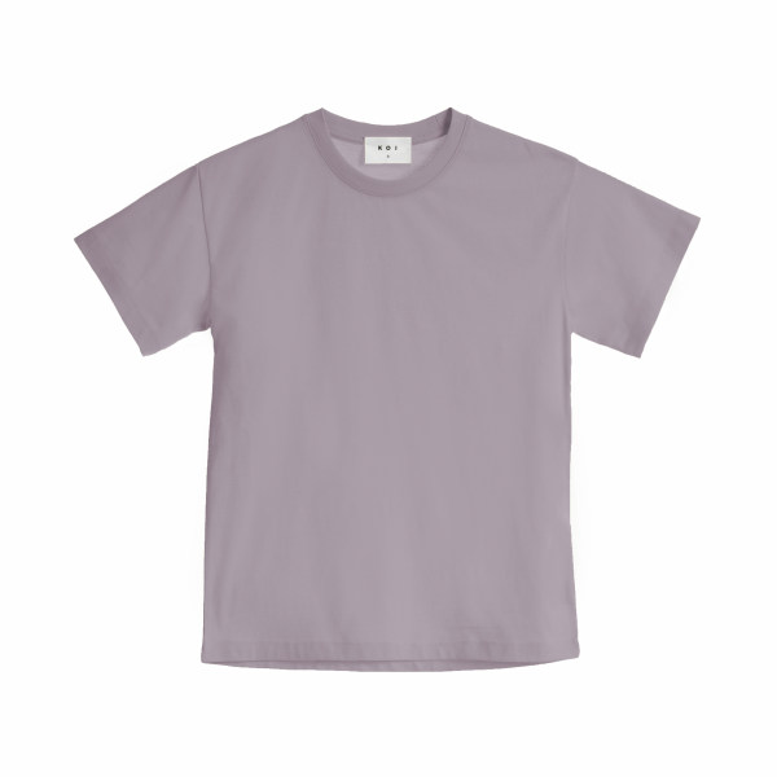 تی شرت آستین کوتاه زنانه کوی مدل هی گرل رنگ بنفش