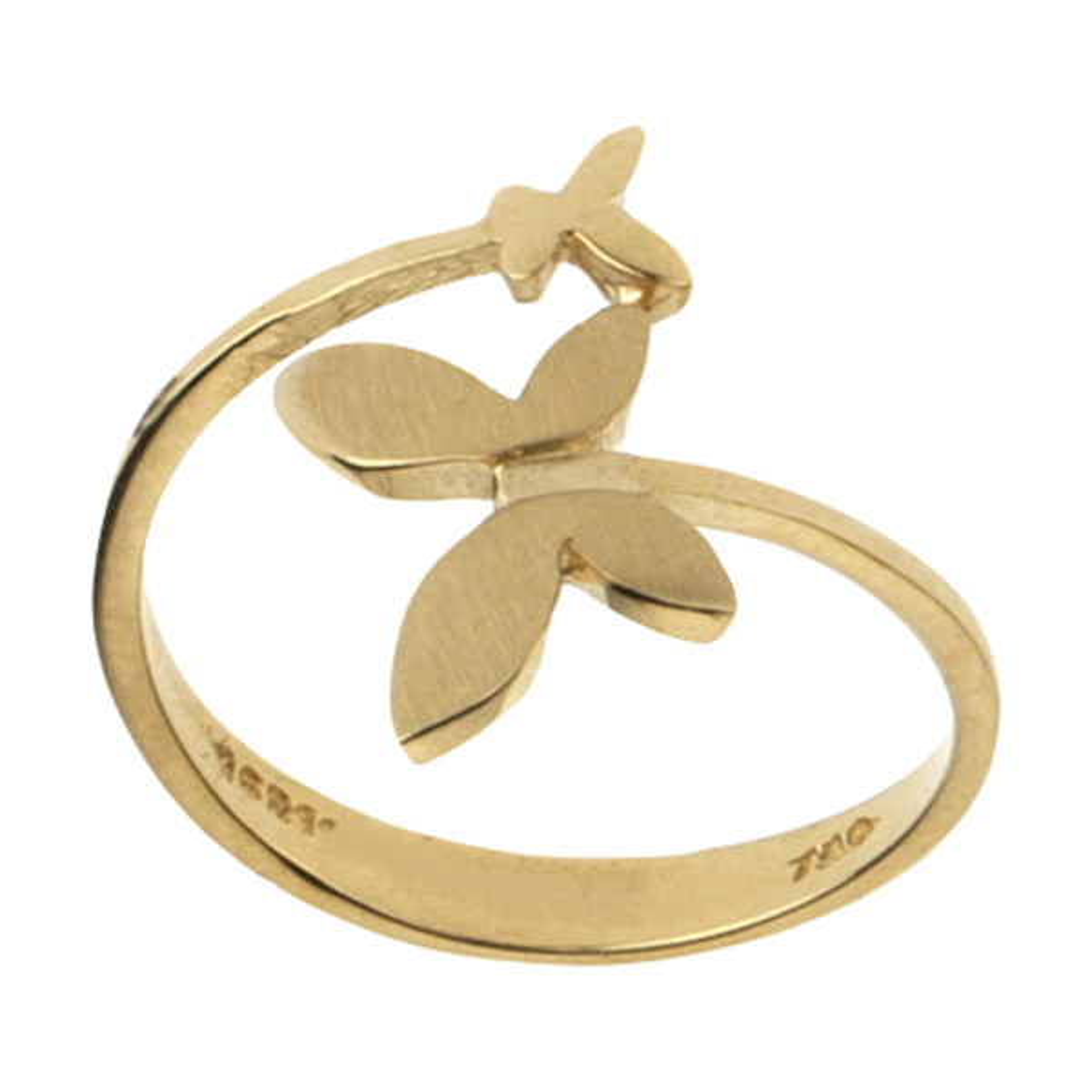 انگشتر طلا 18 عیار زنانه مدیسا مدل R1008-55