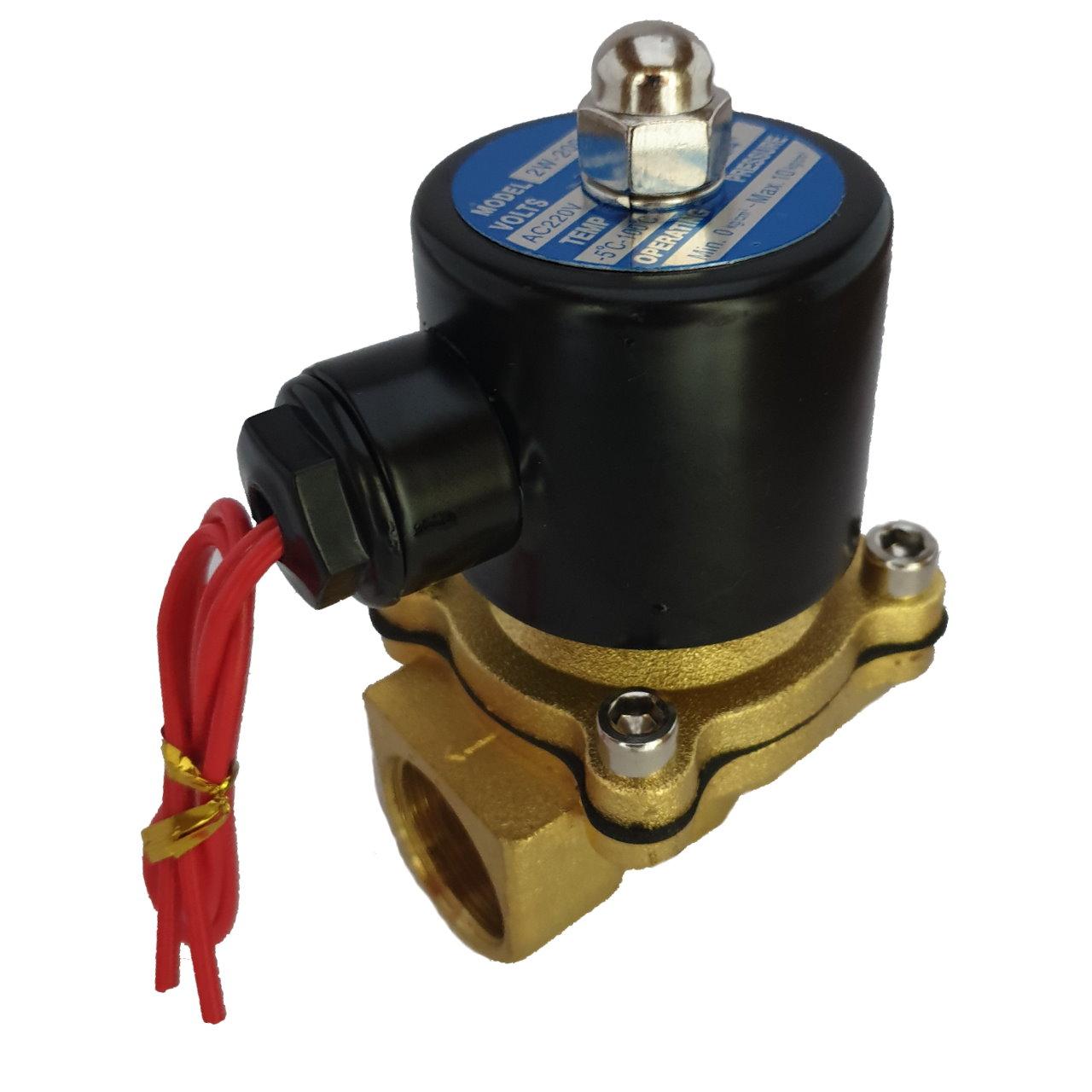 شیر برقی آب مدل 2w-200-20-3/4-220