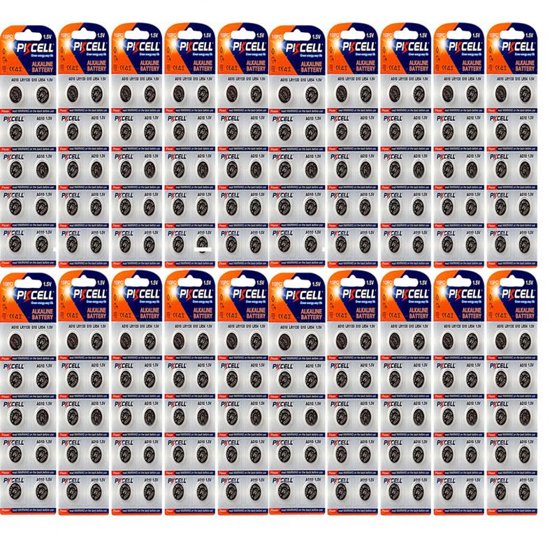 بررسی و {خرید با تخفیف} باتری سکه ای پیکی سل مدل 63/192/LR41/AG3 مجموعه 200 عددی اصل