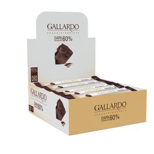 شکلات تلخ 60 درصد گالاردو فرمند - 10 گرم بسته 30 عددی