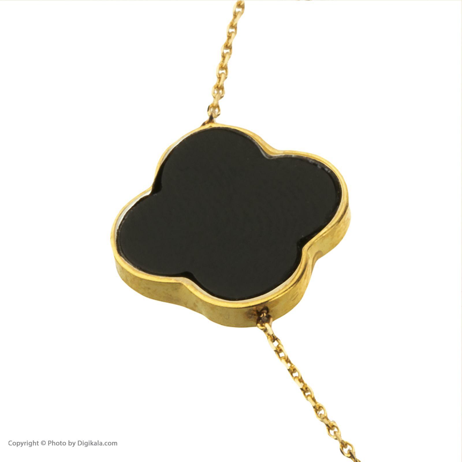 دستبند طلا 18 عیار زنانه میو گلد مدل GD626 -  - 6