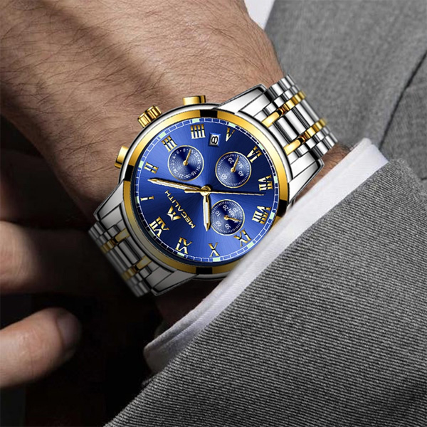 ساعت مچی عقربهای مردانه مگالیت مدل 0060M-B              ارزان