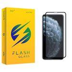 محافظ صفحه نمایش فلش مدل +HD مناسب برای گوشی موبایل اپل iphone 11 pro max