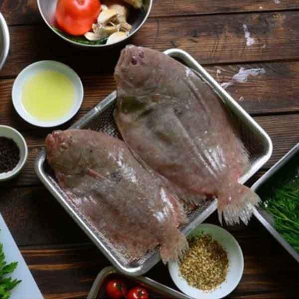 فیله ماهی کفشک تازه ماهی - 2000 گرم