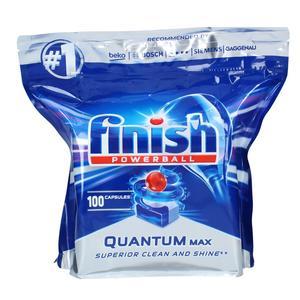 قرص ماشین ظرف شویی فینیش مدل کوانتوم بسته 100 عددی