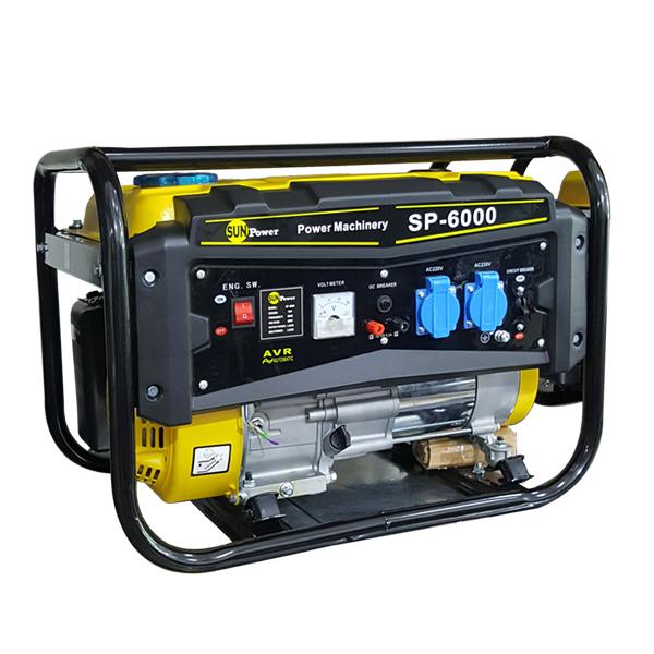 موتور برق بنزینی سان پاور مدل SP6000