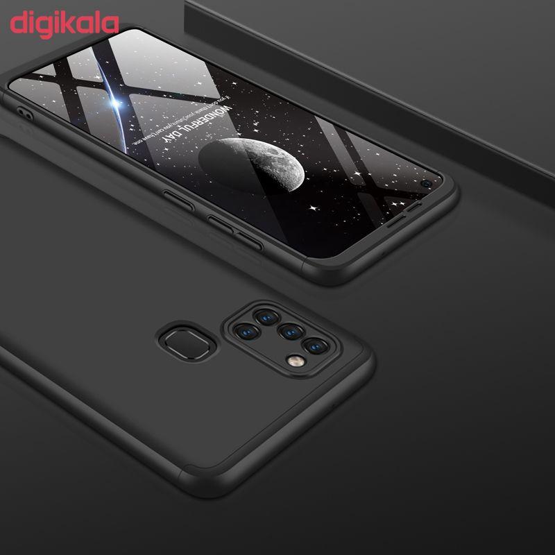 کاور 360 درجه جی کی کی مدل GK-A21S-21S مناسب برای گوشی موبایل سامسونگ GALAXY A21S main 1 19