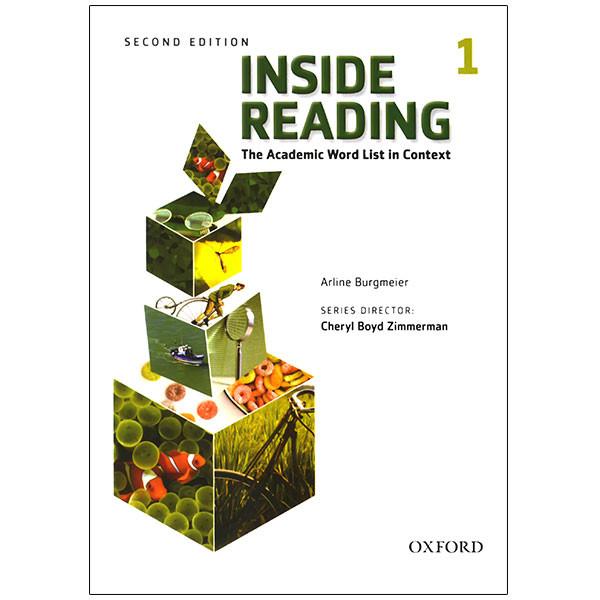 کتاب Inside Reading 1 اثر Arline Burgmeire انتشارات زبان مهر