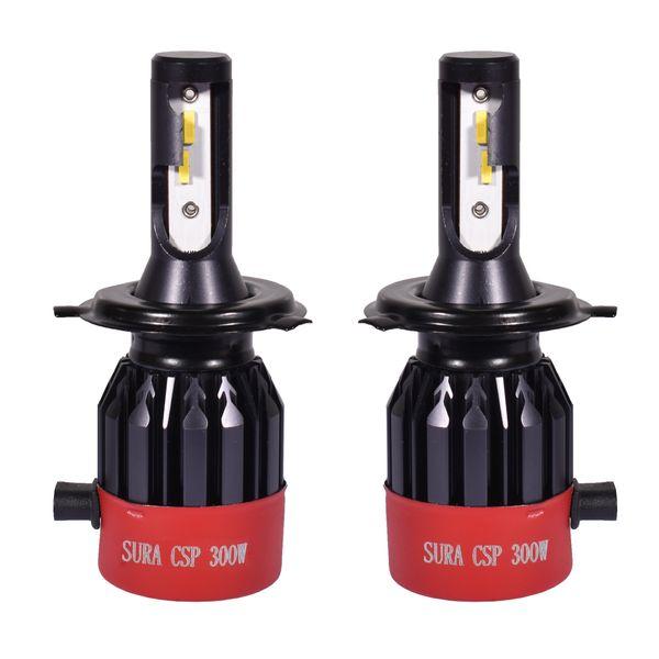 لامپ هدلایت خودرو سورا مدل H4 بسته دو عددی
