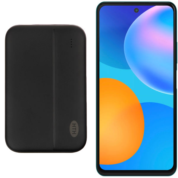 گوشی موبایل هوآوی مدل Y7a PPA-LX2 دو سیم کارت ظرفیت 128 گیگابایت و رم 4 گیگابایت به همراه شارژر همراه اچ تی اچ مدل H5000 ظرفیت باتری 5000 میلی آمپر ساعت