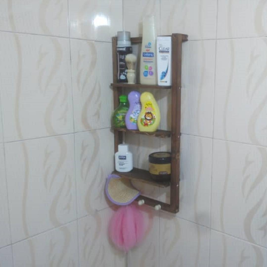 قفسه حمام مدل هانا