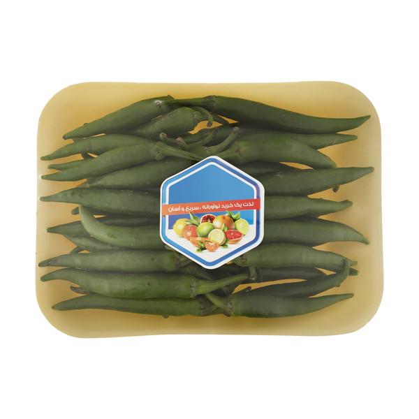 فلفل سبز تند میوه پلاس - 500 گرم