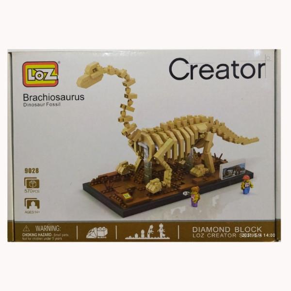 ساختنی لوز مدل دایناسور کد 9028
