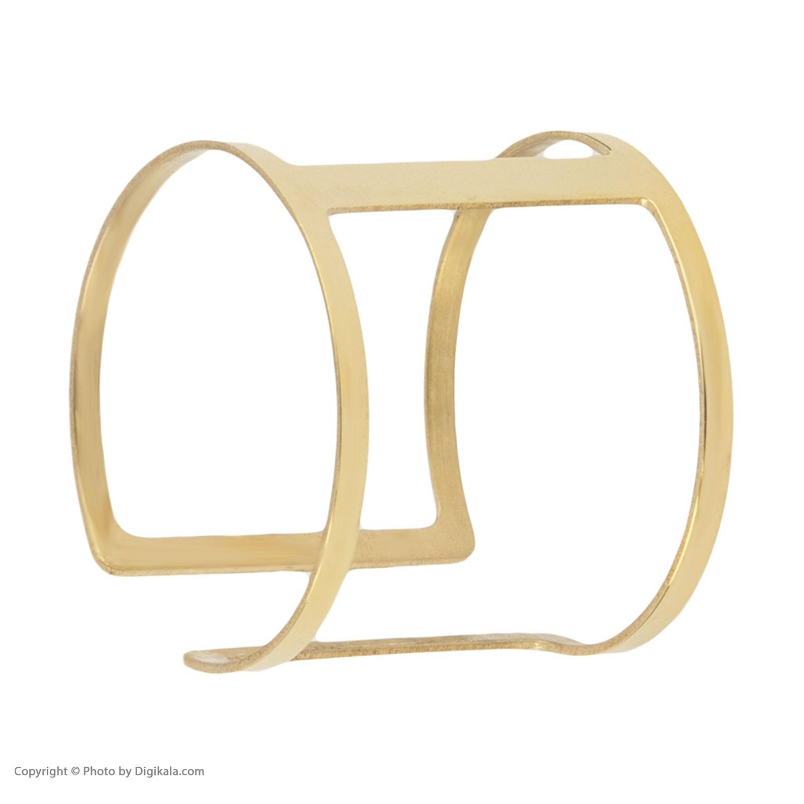 انگشتر طلا 18 عیار زنانه نیوانی مدل NR027 -  - 5