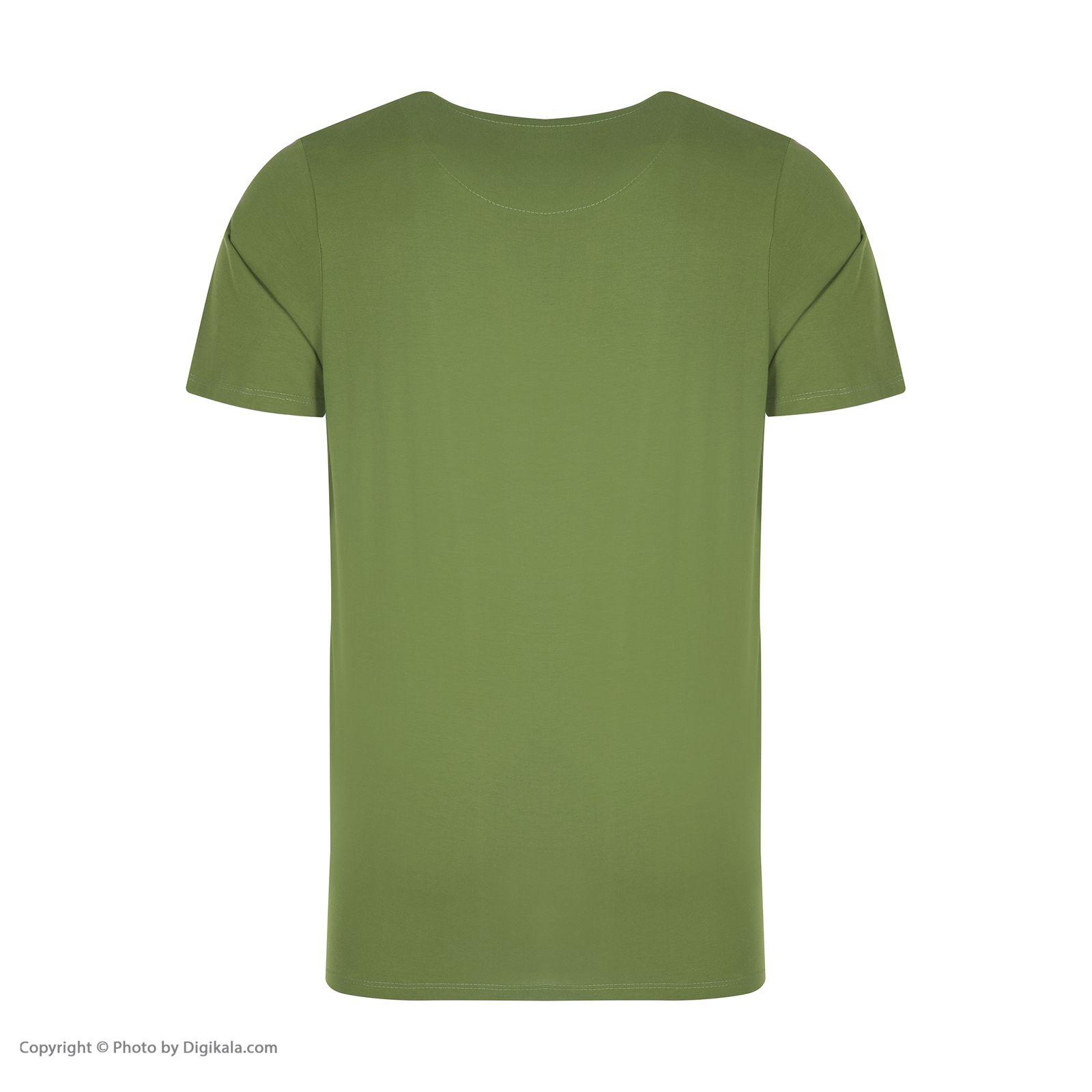 ست تی شرت و شلوارک راحتی مردانه مادر مدل 2041106-42 -  - 6