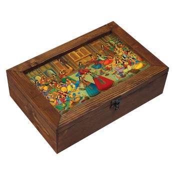 جعبه هدیه چوبی مدل  EG13