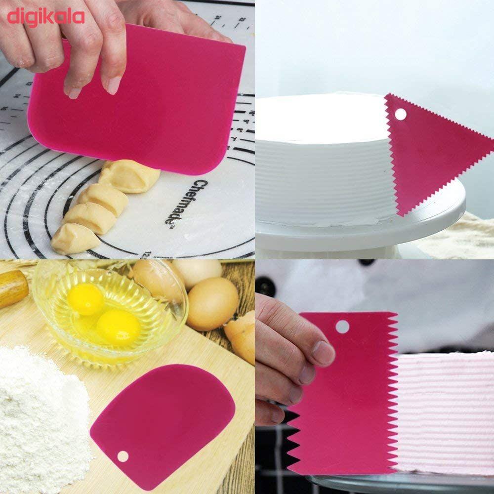 ابزار شیرینی پزی بهگز مدل 031 مجموعه 6 عددی main 1 2