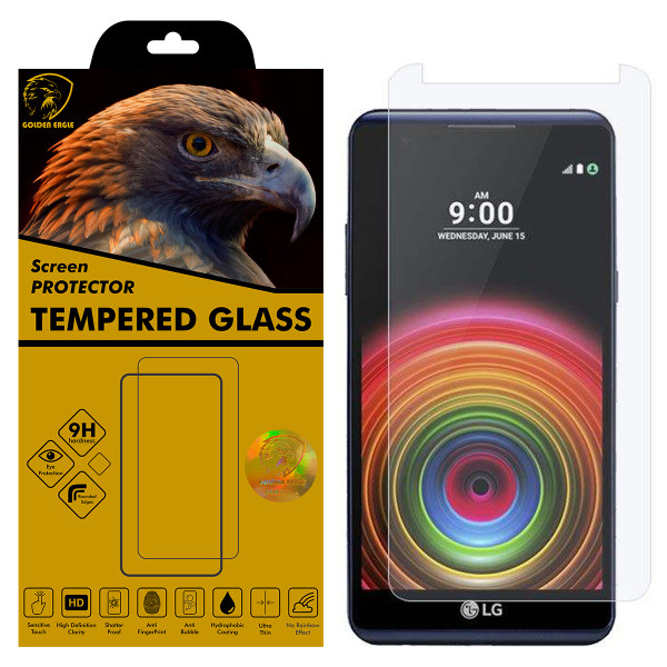 محافظ صفحه نمایش گلدن ایگل مدل GLC-X1 مناسب برای گوشی موبایل ال جی X Power