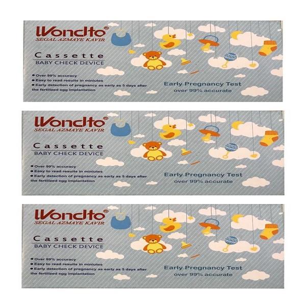 بی بی چک ونسلتو مدل Cassette مجموعه 3 عددی
