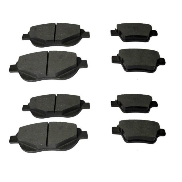 لنت ترمز جلو خودرو کد 5 مناسب برای جیلی امگرند7 به همراه لنت ترمز عقب