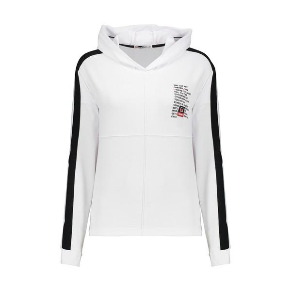 هودی ورزشی زنانه هالیدی مدل 857101-WHITE